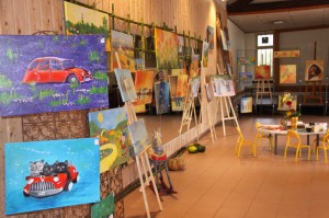 Expo peinture Mireille Laporte