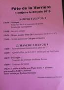 Fête de la Verrière Montjoire le 8 et 9 juin 2019