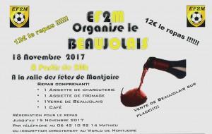 Soirée Beaujolais EF2M