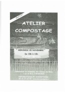 Atelier compostage organisé par la Communauté de Communes des Coteaux du Girou.
